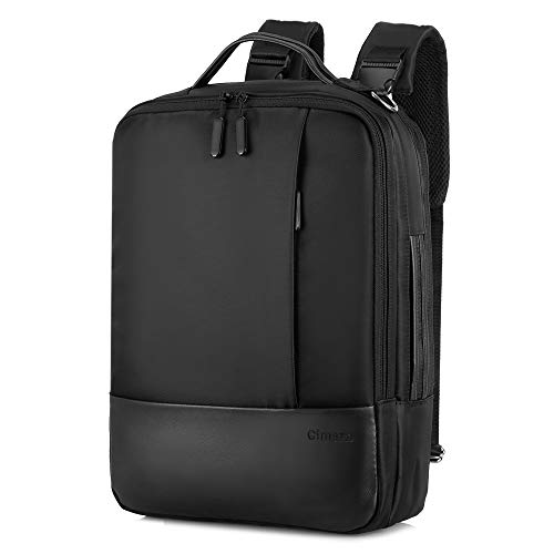 Gimars upgrade design 3 in 1 zaino messenger bag per computer portatile da 15.6