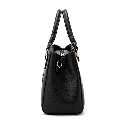 Umhängetasche Damen Schräge Kleine Quadratische Tasche Handtasche Niet Mode Beige