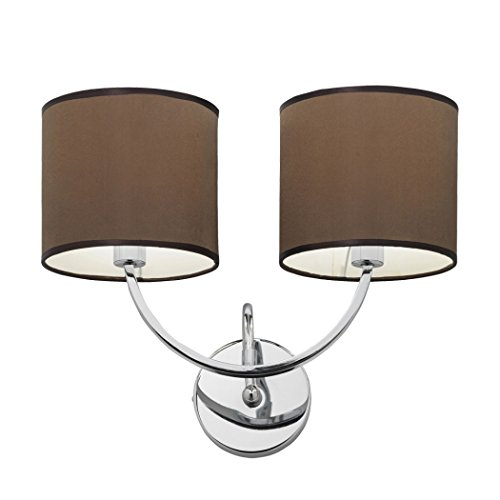2-light-wall-bracket-in-chrome-with-brown-shade