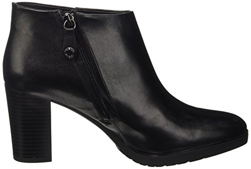 Geox Damen D Raphal Mid B Kurzschaft Stiefel Schwarz (Blackc9999)