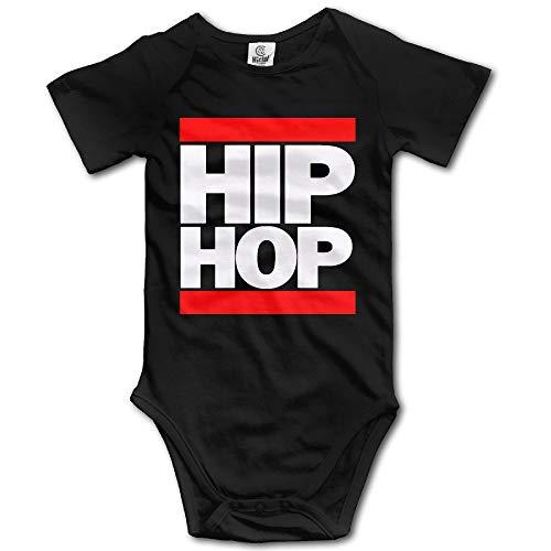 Hip Hop Newborn Infant Baby Clothes T-Shirt Playsuit Union Suit Baby Short-Sleeve Bodysuit Onesies 0-3 Months