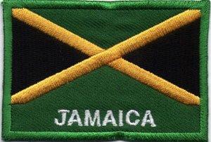 'Parche/Patch Bandera Jamaica