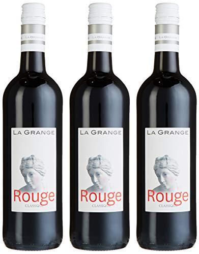 La Grange Classique Rouge IGP Pays d'Oc Cuvée 2015 Trocken (3 x 0.75 l) -