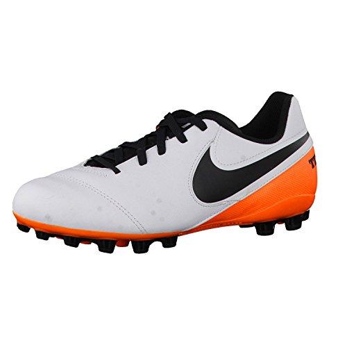 Nike Unisex - Bimbi 0-24 Jr Tiempo Legend Vi Ag scarpe da calcio bianco Size: 37 1/2