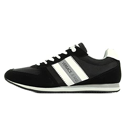 Versace Jeans Sneaker Uomo DisA3 Suede/Nylon E0YPBSA3899, Turnschuhe - 44 EU