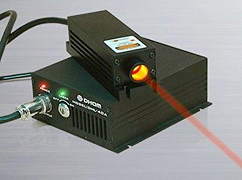 650nm 1W 1000mw Industrie-Hochleistungs-Rot-Laser-Modul 85 ~ 260VAC mit TTL & Temperatur-Steuerung
