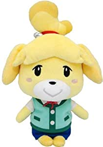 "Sanei Animal Crossing New Leaf 8"" Plush Toy: Isabelle/Shizue by Sanei TOY (English Manual)"