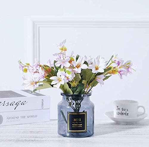 LLSTRIVE Flor de Seda, Flor Artificial, Flor Seca, Planta en Maceta, Planta...