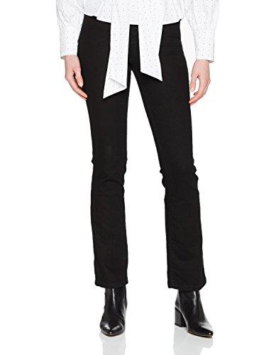 Dorothy Perkins Damen Bootcut Jeans, Schwarz, 34 EU (Herstellergröße: 6) (Low-rise Bootcut-hosen)