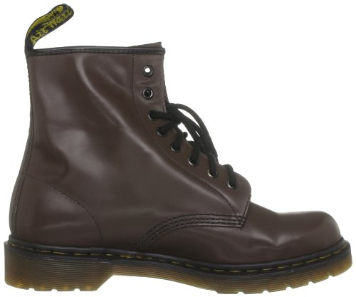 Dr Martens Broken In 1460, Boots mixte adulte Marron (Milled Smooth)