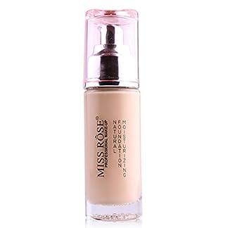 Toamen ENORITA ROSA Base De Maquillaje LíQuido Base Corrector Impermeable Maquillaje (A)