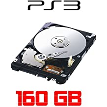"""HDIUK - Disco duro para PS3 (160 GB HDD, SATA 3, 2,5"""")"""
