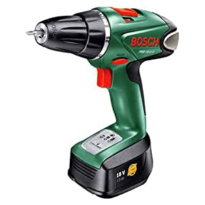 Bosch PSR 18 LI-2 Cordless 18 Volt Drill/Driver, Baretool (no Battery or Charger) (discontinued by m (Old Version)