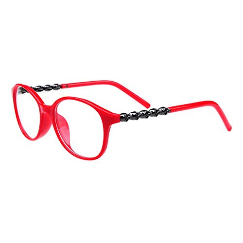 Z-P New Style Fashion Round Frame Clear Lens Anti-UV Vintage GeekUnisex Personality Glasses