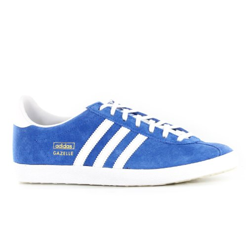 Adidas Gazelle OG Blue White Mens Trainers Size 47 1/3 EU -