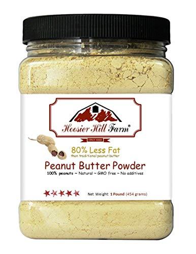 Peanut butter powder by hoosier hill farm, 0.5kg.