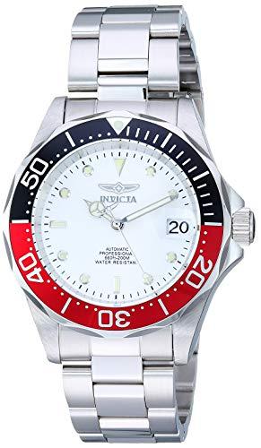 Invicta 9404 Pro Diver Orologio da Unisex acciaio inossidabile Automatico quadrante bianca