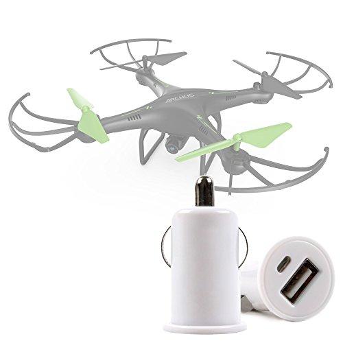DURAGADGET Chargeur Voiture pour Archos Drone, Mota Jetjat Nano, Arcade Pico & Pico Cam - USB