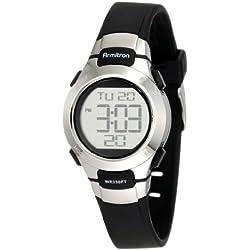 Armitron Sport 45/7012BLK - Reloj de Pulsera Mujer, Resina, Color Negro