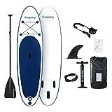 BATURU aufblasbares SUP Board, Stand-up Paddle Board, Sup Paddleboard 305 x 81 x 15 cm,iSUP Paket...