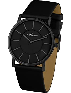 Jacques Lemans Classic Damen-Armbanduhr XS York Analog Leder 1-1621B