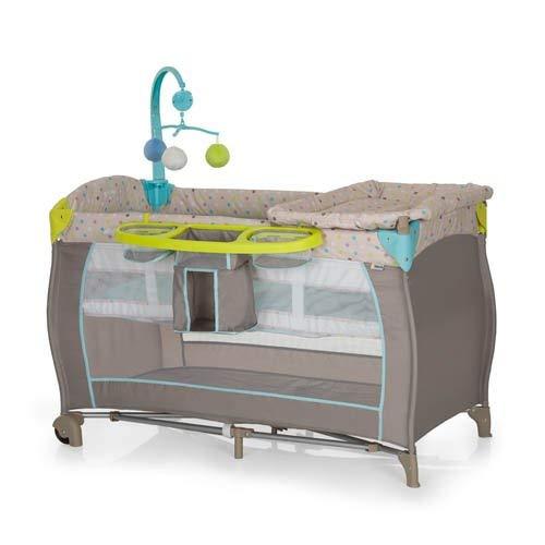 Hauck 4007923607589 Babycenter 2017grün, Box für Kinder, grau -