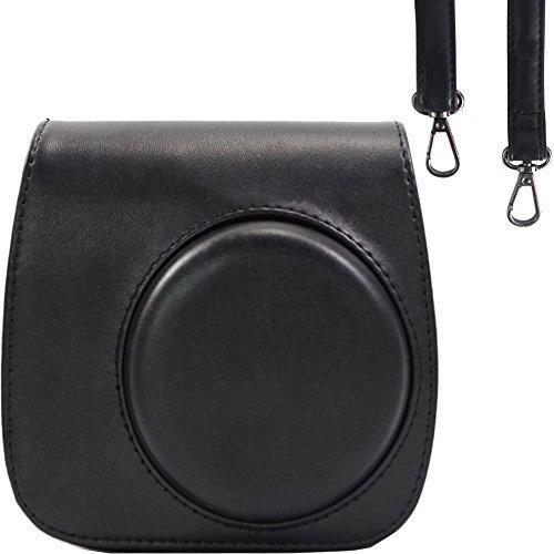 Film Fuji 8 Mini (Tasche/ Fall für Fujifilm Instax Mini 9/8 / 8+ Instant Film Kamera Ice Blue. Vintage Compact Schutztasche. Mit verstellbarem Schultergurt & Tasche. Von SAIKA)
