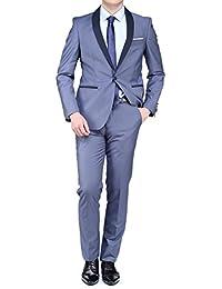 Leader Mode - Costume Nf132455 Smoking Chale Light Blue
