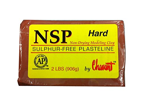 chavant-nsp-non-drying-sulphur-free-sculpting-clay-2lb-900g-bar-hard