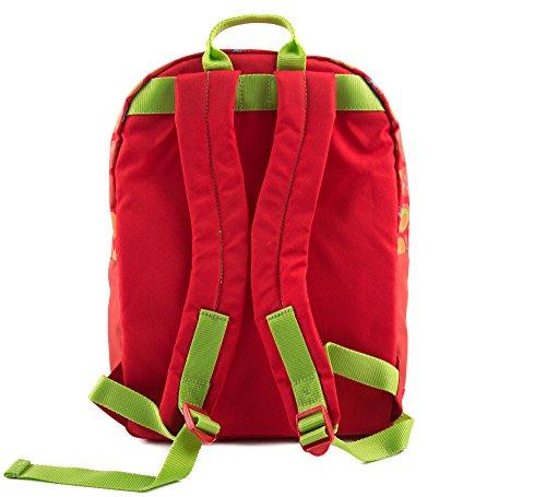 sigikid, Mädchen, Kinder Rucksack klein, Apfelherz, Rot, 24637 Rucksack groß