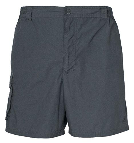 Trespass Herren Roadside Shorts Granite