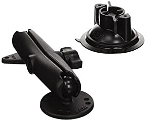 ram mount twist lock suction cup mount w long double socket arm 2 5 round base amps hole. Black Bedroom Furniture Sets. Home Design Ideas