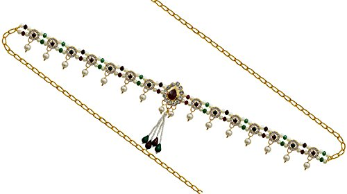 PCM Kamar Bandh Gold Plated kamarbandh Belly Hips Chain For Girls / Women  available at amazon for Rs.299