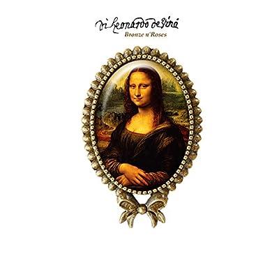 Bague * La Joconde * bijou rétro Léonard de Vinci peinture verre