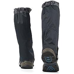 outad Outdoor–Polainas Polainas impermeable para exterior de pantalones para Senderismo, Escalada y nieve Senderismo Wandernde gehende kletternde de caza nieve Legging polainas–1par