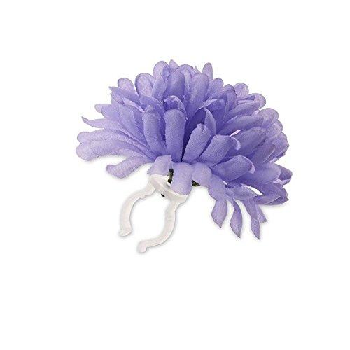 Basil Einzelne Lenker Blume Dahlia Flower, Lavender, One Size, 50370