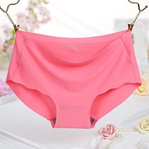 FZmix Fashion Panties Sexy Underwear Women One-Piece Seamless Sexy Panties For Women Briefs Watermelon Red
