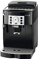 De'Longhi Magnifica S ECAM 22.110.B Kaffeevollautomat (Direktwahltasten und Drehregler, Milchaufschäumdüse, Kegelmahlwerk 13 Stufen, Herausnehmbare Brühgruppe, 2-Tassen-Funktion) schwarz