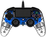 Nacon Wired Compact Controller for PlayStation 4, Blue