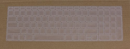 Saco Chiclet Keyboard Skin for HP Pavilion Laptop 15.6-inch 15-N204TX, 15-N208TX, 15-B055CA, 15-N011TX, 15-N205TX 15-n208TX , 15-B055CA -(Transparent)  available at amazon for Rs.355