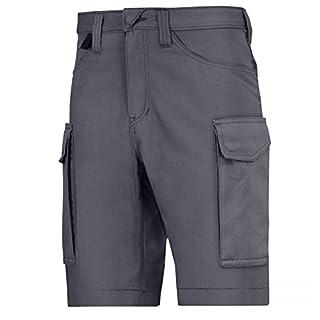 Snickers Workwear Service Shorts, große 62, blau/stahlgrau, 6100