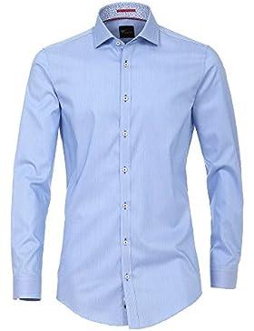 Venti Herren Businesshemd 172667600 Easy Care 100% Baumwolle - Body Fit