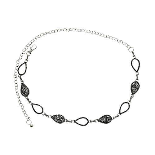 Fashiongen Metallico Catena Cintura da Donna LALY