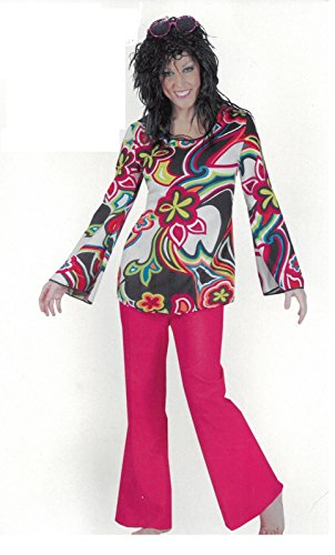 Funky Anzug Hippie Damenkostüm 508071 44 46 (Funky Pimp Kostüm)