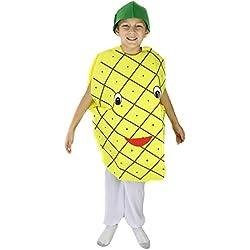 petitebelle Ananas Ensemble de costume Parti Porter Vêtements mixte enfant - jaune - Taille Unique