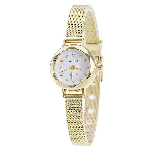 TianWlio Armbanduhren Damen Schöne Mode Beiläufige Rostfreier Stahl Mesh Band Armbanduhr