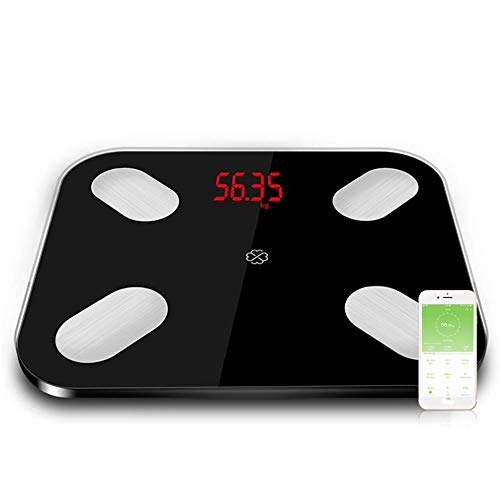 Smart Body Fat balances étage électronique LED numérique Poids Salle de Bain Composition Moniteur Bluetooth 4,0 APP Android ou iOS