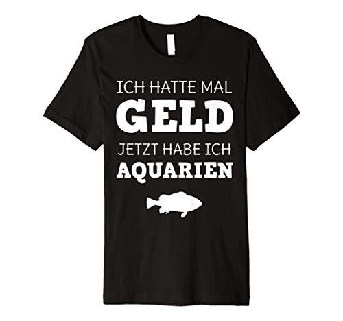 Geld Aquarien T-Shirt Aquaristik Fisch Aquarianer