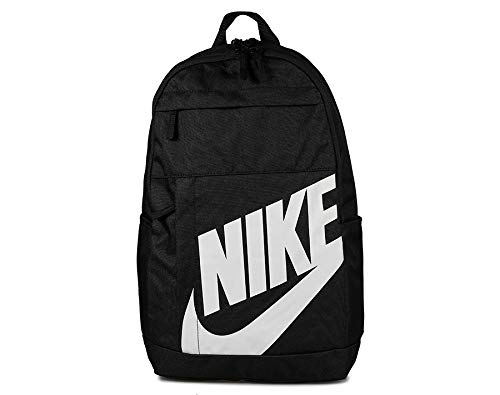 Nike NK ELMNTL BKPK - 2.0 Sports Backpack, Black/White, One Size