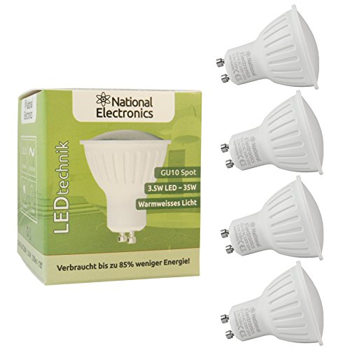 4x-national-electronicsr-gu10-35w-320-lumen-led-leuchtmittel-ac-230v-120-lampe-spot-warmweiss